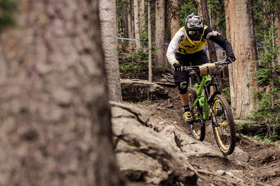 Jerome Clementz claims another victory at the Enduro World Series, Colorado round.