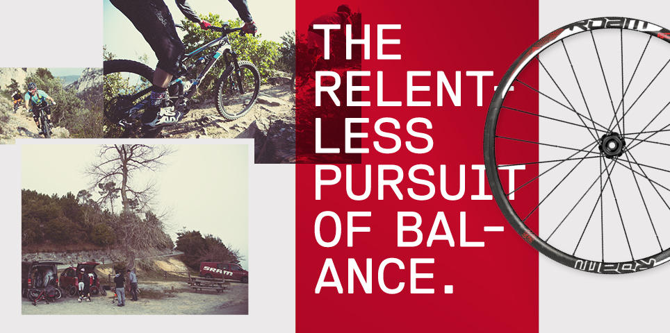 The Relentless Pursuit of Balance.